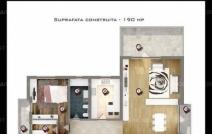 Apartament de vânzare cu 3 camere, Gavana Platou